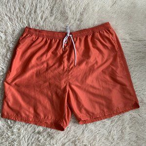 Vineyard Vines Swim Trunks Orange Mens Size XXL
